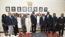 10-03-2020-Head of EU Delegation to Ghana, H. E. Ambassador Diana Acconcia calls on  Chief Justice, His Lordship Justice Anin Yeboah