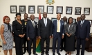 23-03-2020- GCB Bank MD, Mr. Anselm Ray Sowah and team call on Chief Justice ,His Lordship Justice Anin Yeboah