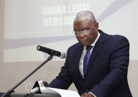 CJ Launches 'Ghana Legal Web Library'