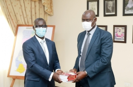 President of ECOWAS Court of Justice pays courtesy call on  Chief Justice
