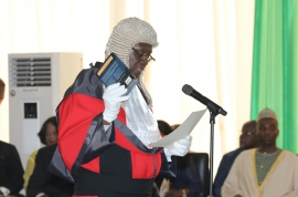 JUSTICE ANIN YEBOAH IS 14TH CHIEF JUSTICE OF GHANA