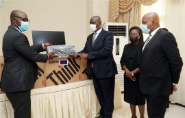 UNODC Donates IT Equipment to Judicial Service